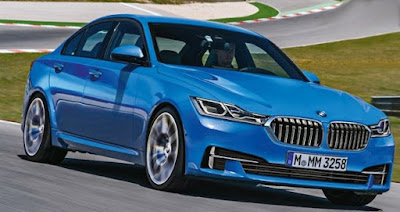 Next Gen 2018 BMW 3 Series exterior Hd Pictures 01