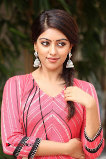 Actress Anu Emmanuel Pictures at Majnu Success Meet  0015.JPG