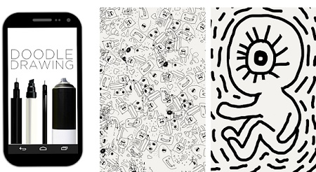 aplikasi android doodle art nama sendiri