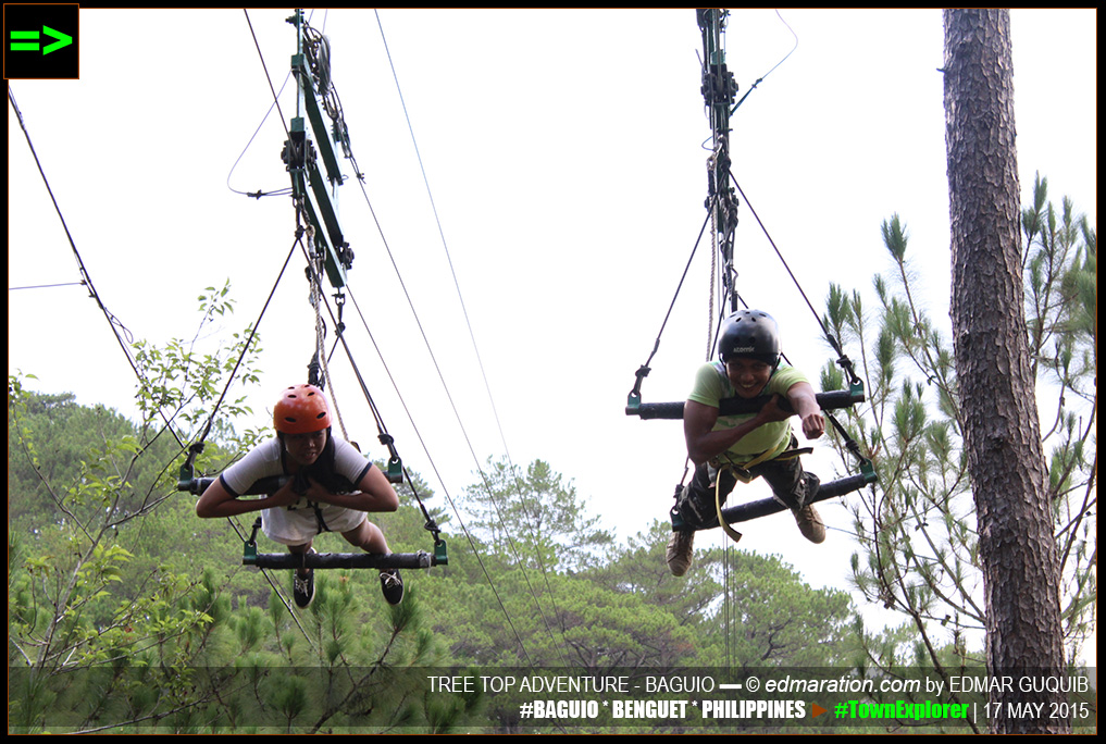 BAGUIO TREE TOP ADVENTURE ZIPLINE