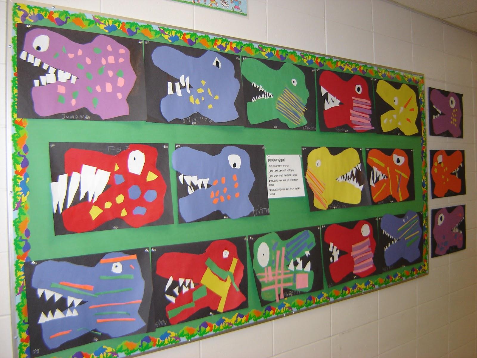 Mrs Manuel S Kindergarten Class Learning About Dinosaurs