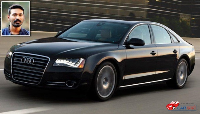 Dhanush's Audi A8