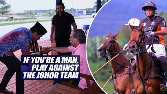 Netizen puji KJ Menghadap Sultan Johor, Ini barulah 'Anak Jantan'
