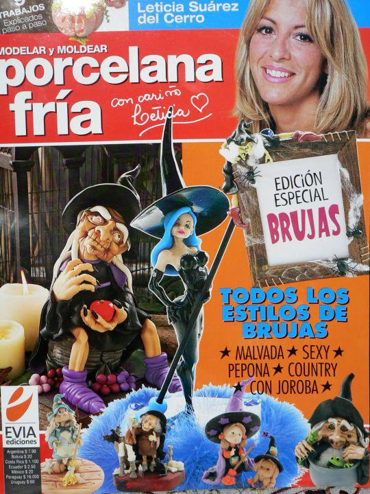 Moldelar y moldear porcelana fría Nro. 01 – Leticia Suárez del Cerro