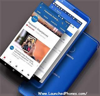 is launched every bit the novel Panasonic budget mobile telephone  Panasonic Eluga Ray 600 launched amongst 4000mAh