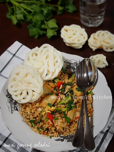 resep nasi goreng seledri
