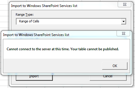 Sunny Bahree: Cannot connect to the server at this time
