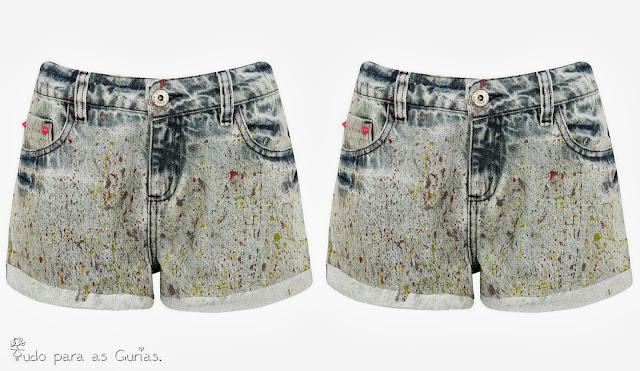 A tendência do Shorts jeans