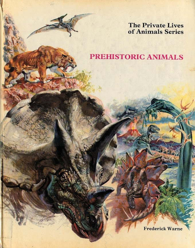 Vintage Dinosaur Art: Private Lives of Animals: Prehistoric Animals - Part 1
