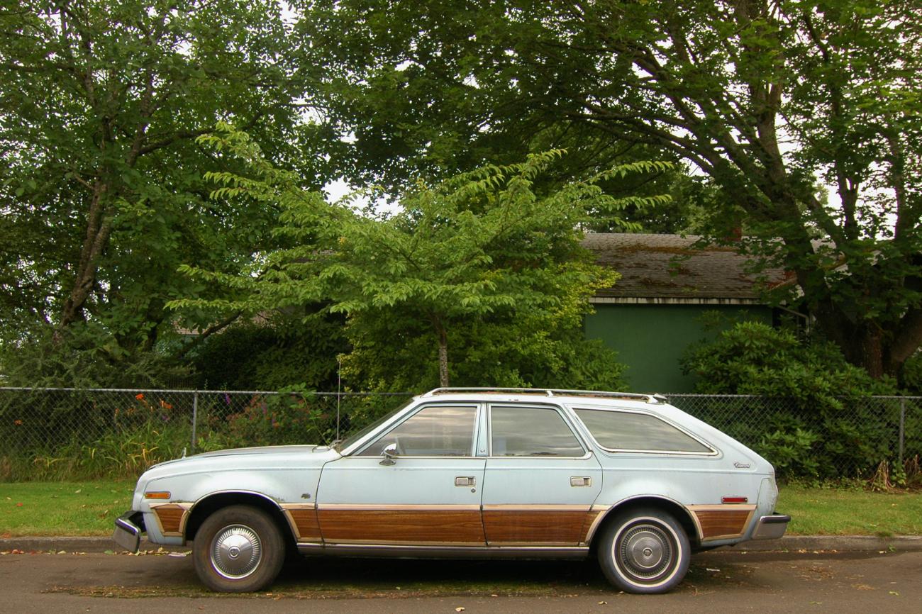 old parked cars 1978 amc concord station wagon. Black Bedroom Furniture Sets. Home Design Ideas