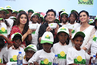 Shriya Saran and Meenakshi Dixit Pos at Quaker Feed A Child Campaign  0045.jpg