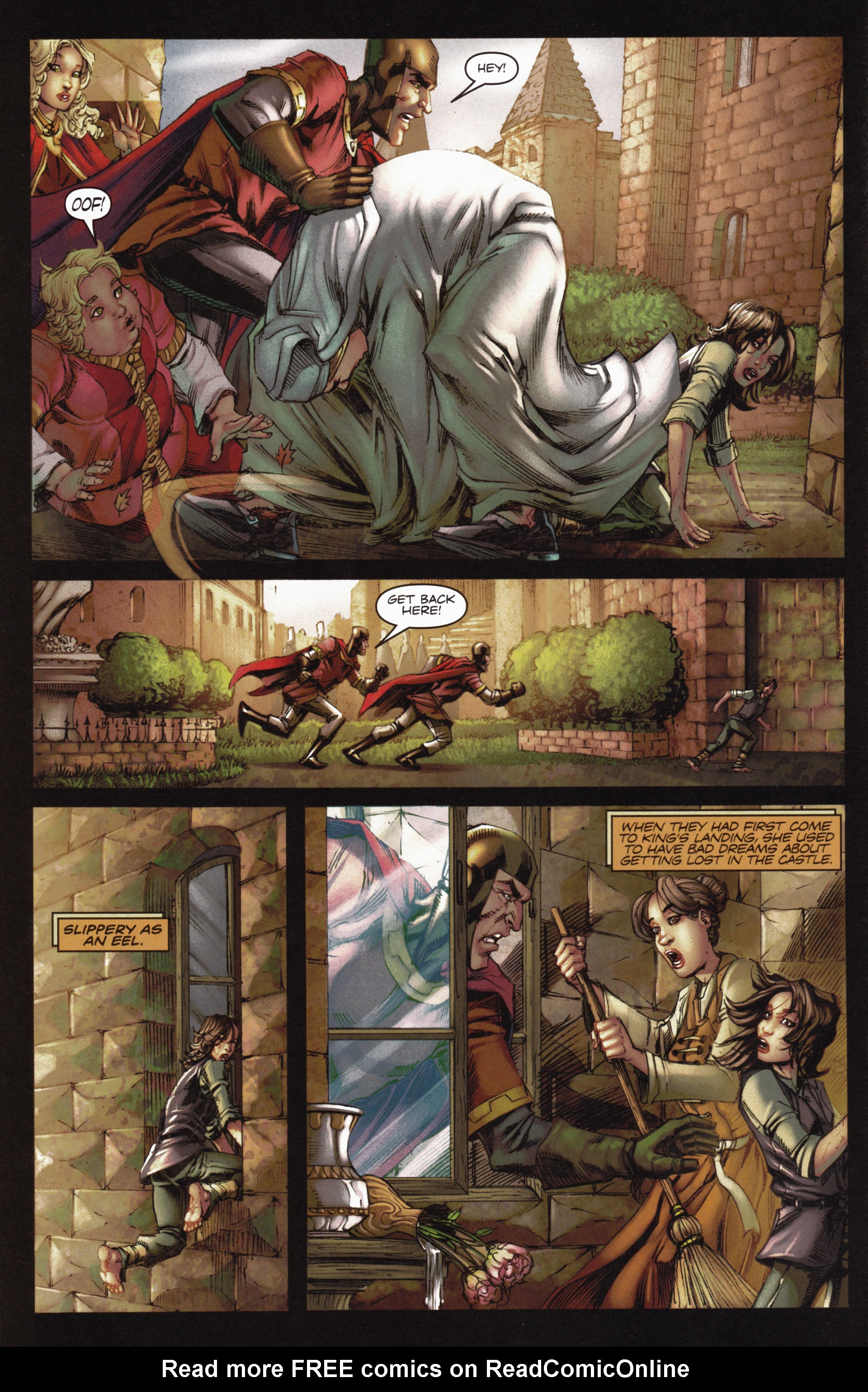Read online A Game Of Thrones comic -  Issue #10 - 16