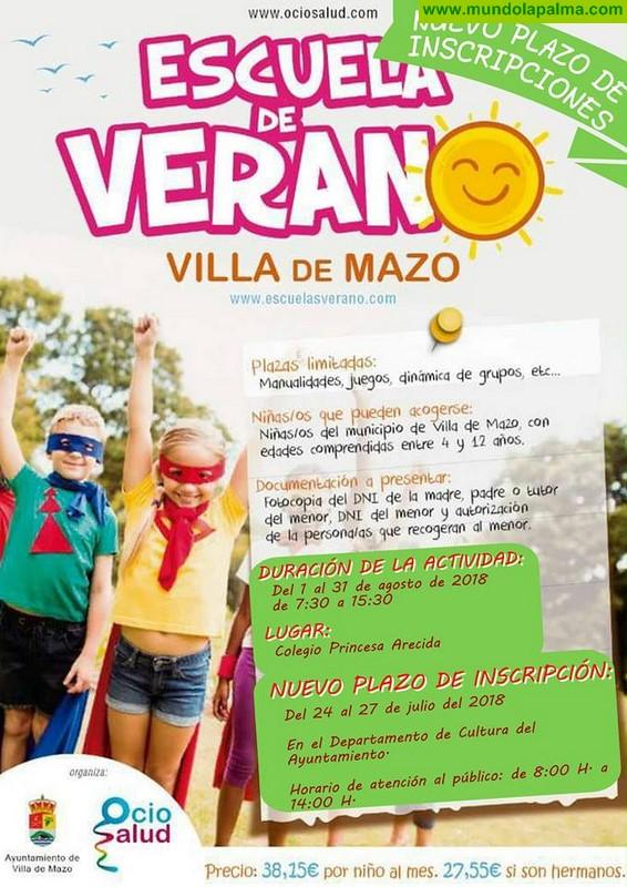 Escuela de Verano en Villa de Mazo