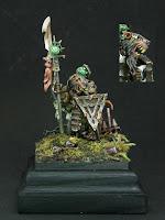 warhammer age of sigmar skaven warlord rats chaos miniature