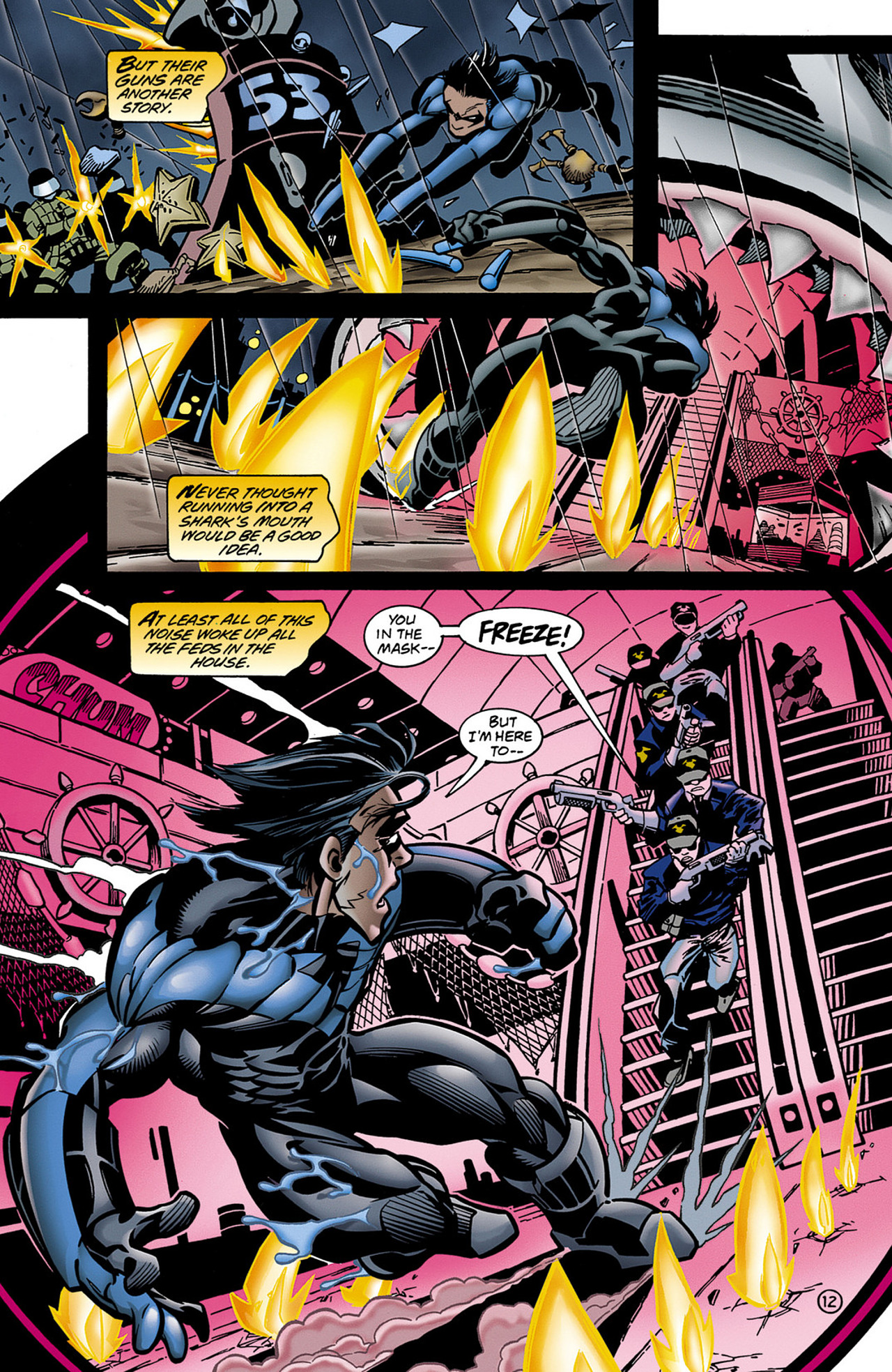Read online Nightwing (1996) comic -  Issue #0.5 - 14