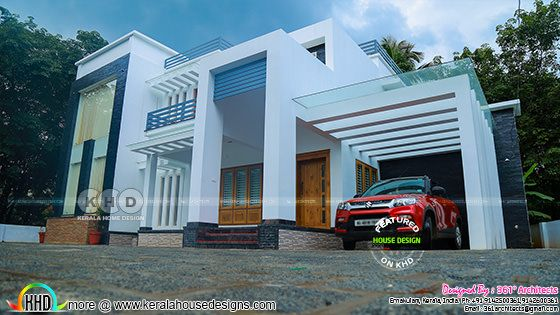 ₹56 lakhs costed contemporary finished house