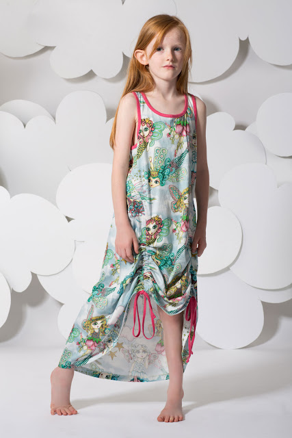 Paper Wings Fairy Maxi Dress