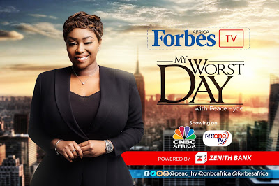 Mogul Moves: Peace Hyde inks 6- figure international Forbes Africa TV deal