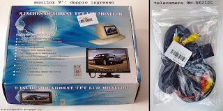 Monitor 9'' e telecamera RM-RZ212L