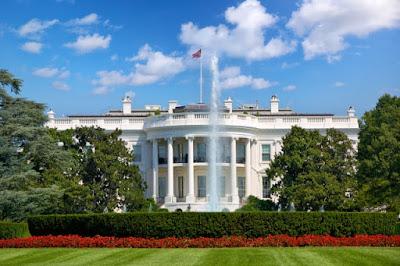 La Casa Blanca, lado norte.