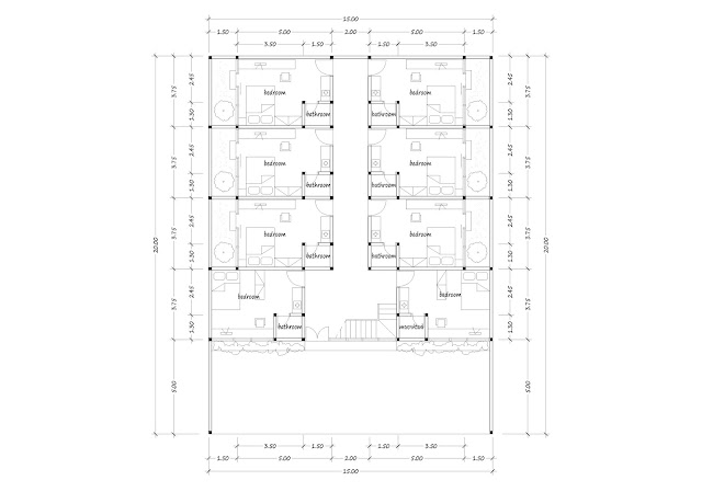 Boarding house plan 23