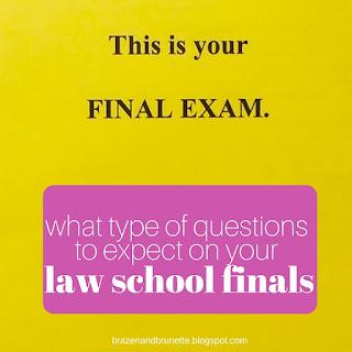 law school finals | brazenandbrunette.com