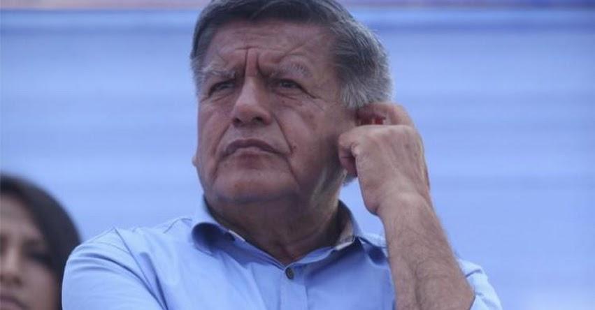 CÉSAR ACUÑA: Piden 4 años de cárcel para el líder de APP por compra de panetones