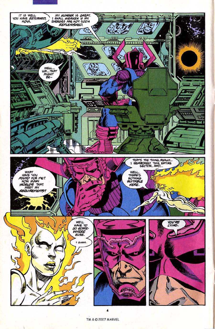 Read online Silver Surfer (1987) comic -  Issue #70 - 6