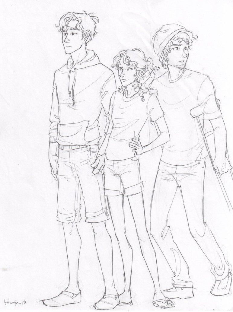 Mundo Meio-Sangue: Desenhos de Percy Jackson e os Olimpianos