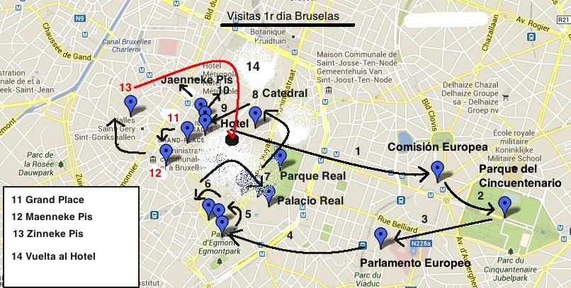 Plano+Visitas+1r+dia+Bruselas