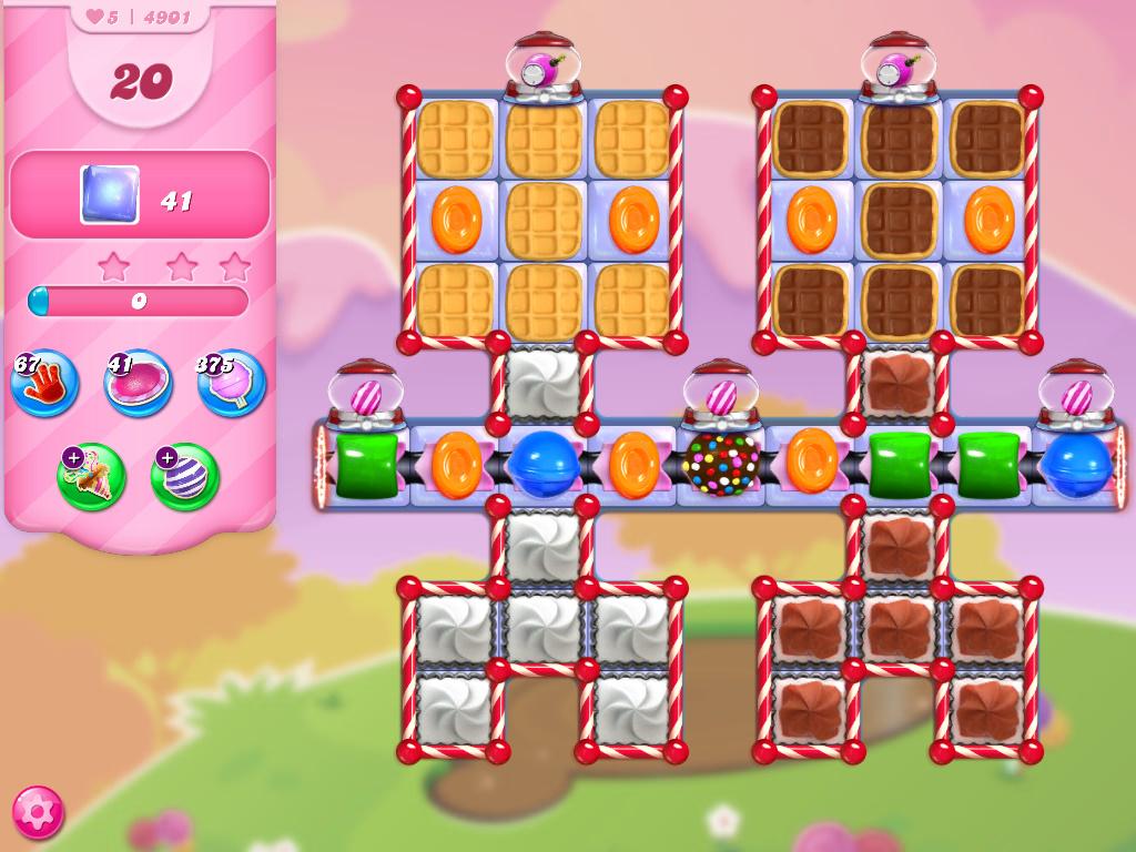 Candy Crush Saga level 4901