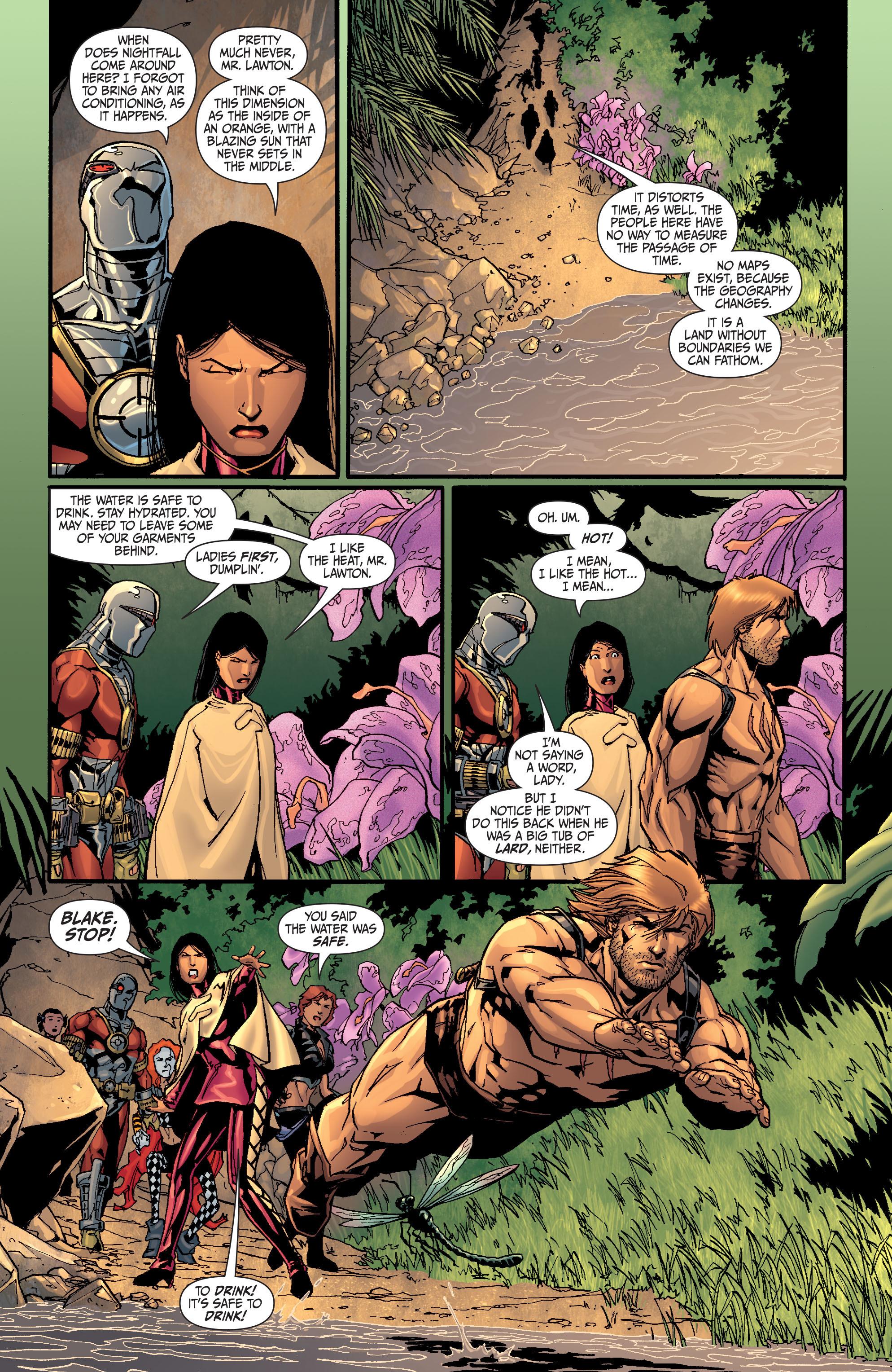 Read online Secret Six (2008) comic -  Issue #26 - 11