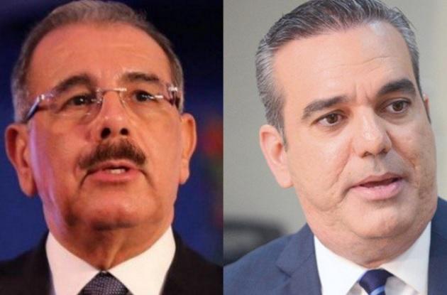 Si fueran candidatos en 2020, Danilo ganaría 45% – 33% a Luis Abinader