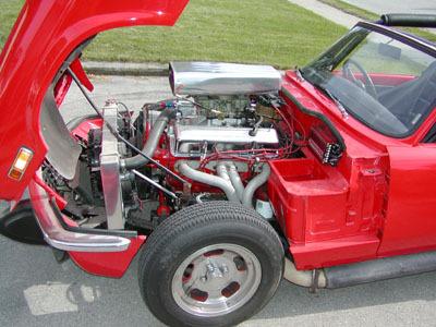 Daily Turismo 10k 1975 Triumph Spitfire V8 Swap