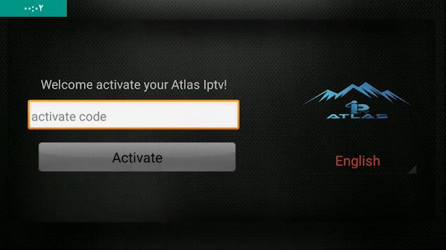 كود تفعيل برنامج atlas iptv 2020