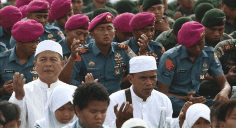 Tentara Protes Kepada Kyai yang Memimpin Pengajian di Markas Koramil
