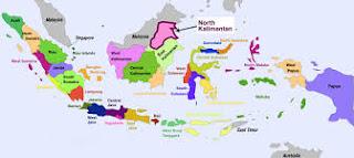 Berapakah Jumlah Provinsi yang Ada di Indonesia Disertai Ibukotanya?