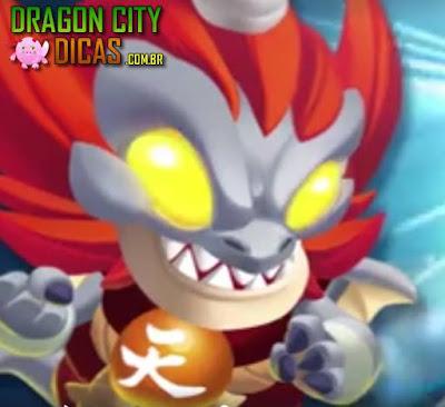 Dragão Amuka Nobre - Novo Heroico!