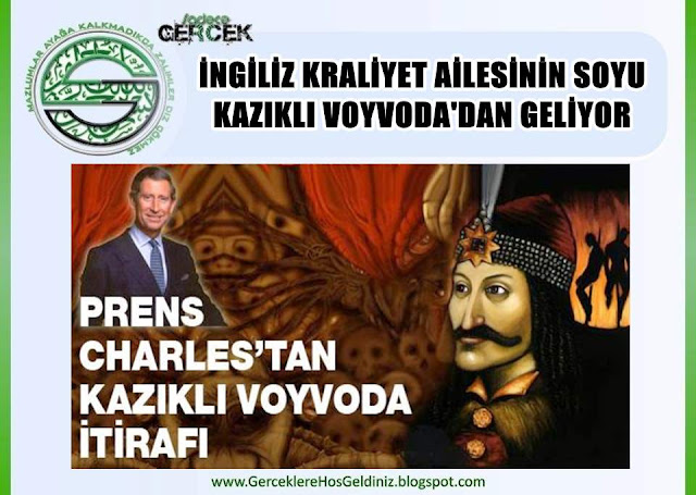 İngiliz kraliyet ailesi, Vlad Tepeş, yani Kazıklı Voyvoda soyundan