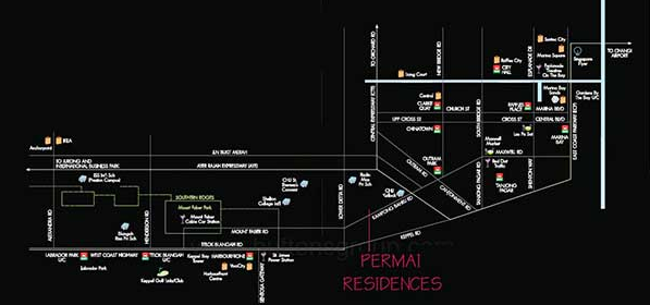 Permai Residences Location