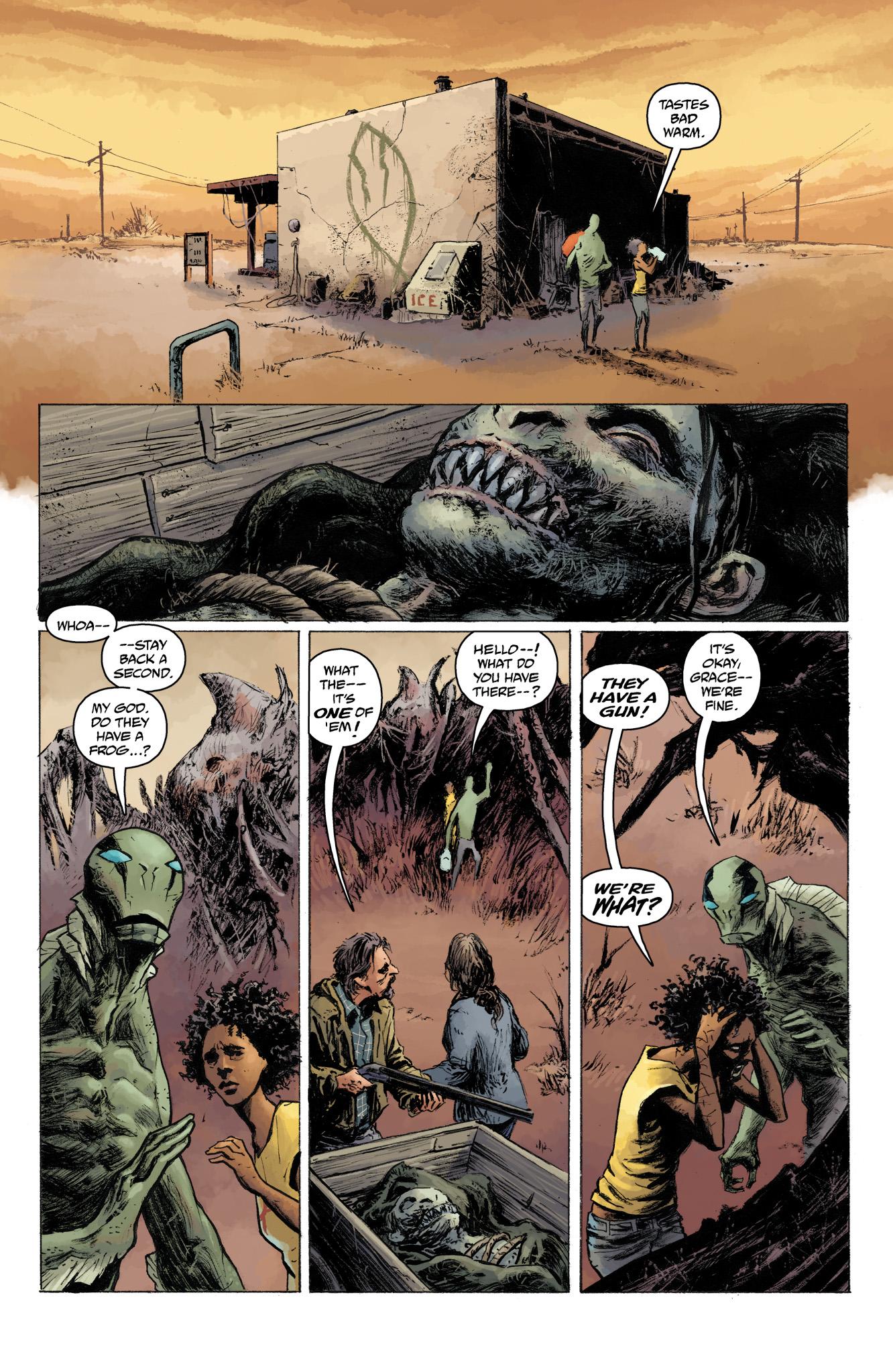 Read online Abe Sapien comic -  Issue #13 - 6