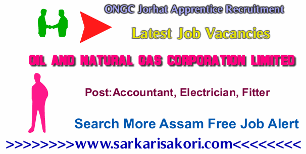 ONGC Jorhat Apprentice Recruitment 2017 various jobs