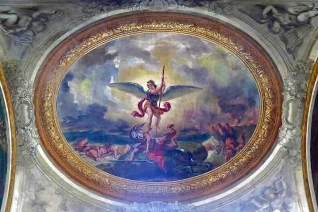 Delacroix paintings restored.