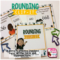 https://www.teacherspayteachers.com/Product/Rounding-Numbers-Clip-It-Card-Game-for-Centers-2086377