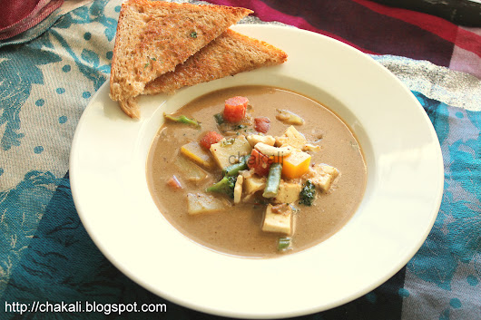 Malabar Cashew and coconut Stew