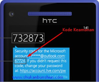 kode keamanan microsoft akun hotmail outlook suspended