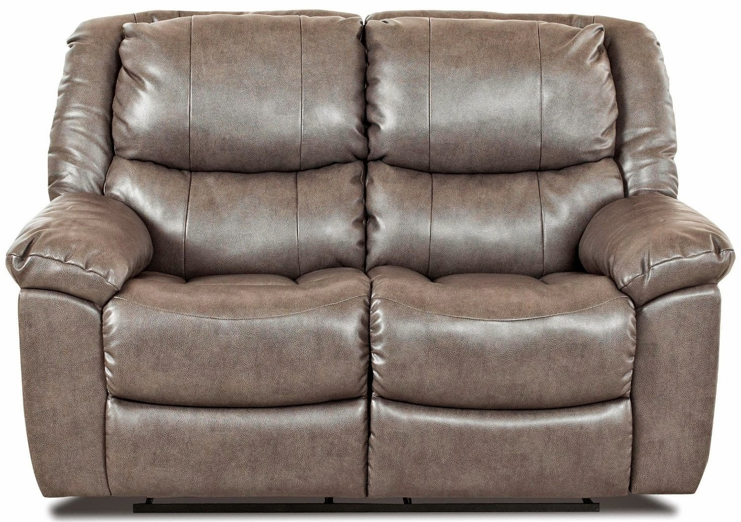 Best reclining sofa for the money klaussner bonded leather reclining sofa Leather loveseat recliners
