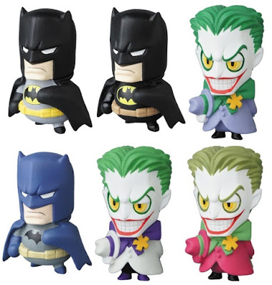 DC Comics Batman MVP (Micro Vinyl Pleasure) Mini Figure Series by Medicom Toy