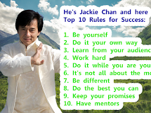 Jackie Chan's Rules For Success