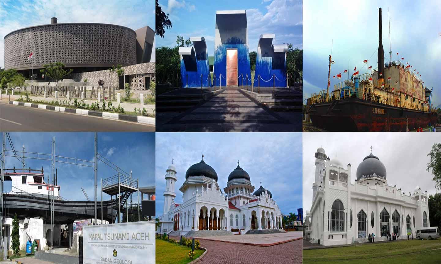 Inilah 6 Objek Wisata Untuk Mengenang Tsunami Aceh